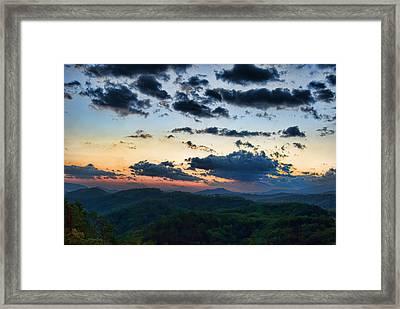 Sundown Framed Print by Steven Richardson