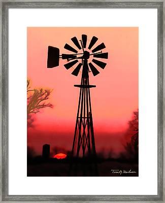 Sundown  Framed Print by Terril Heilman