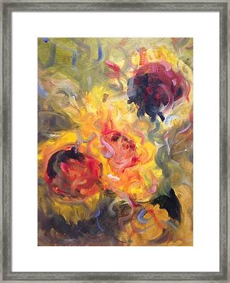 Sunflower Selebrations Framed Print by Karen Carmean