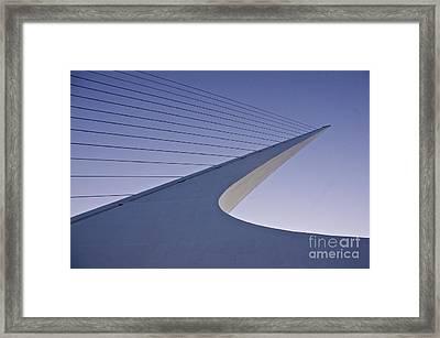 Sundial Bridge Framed Print by Sean Griffin