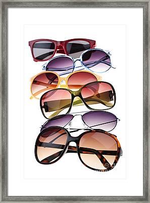 Sunglasses Framed Print by Elena Elisseeva