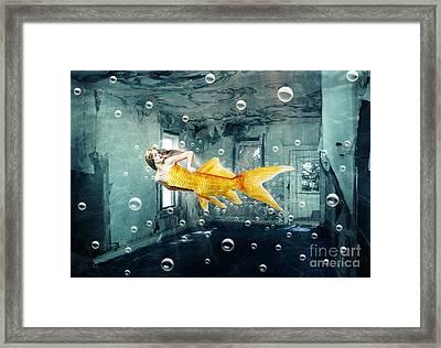 Sunken Palace Framed Print by Juli Scalzi