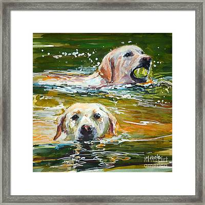 Sunkist Framed Print by Molly Poole
