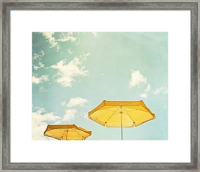 Sunny Day Framed Print by Carolyn Cochrane