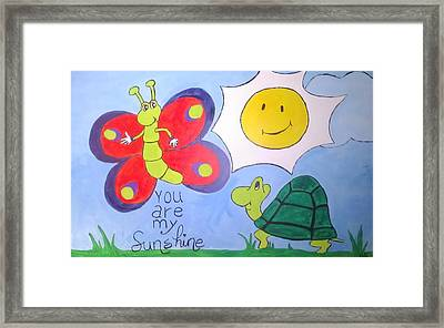sunny Day Framed Print by Sherry Cordle