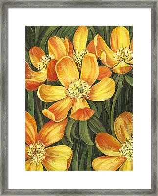 Sunny Side Framed Print by Natasha Denger
