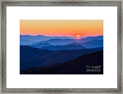 Sunny Side Up Framed Print by Anthony Heflin