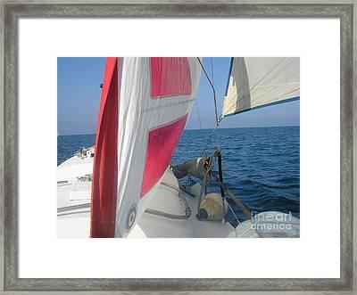 Sunpearl High Seas Framed Print by Rogerio Mariani