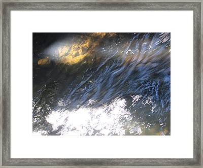 Sunray 1 Framed Print by Ingrid Van Amsterdam