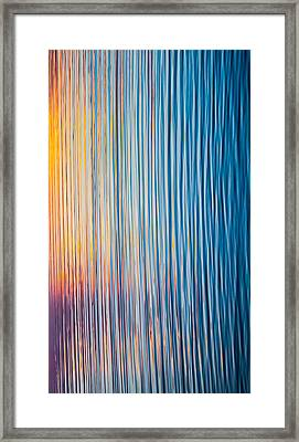Sunrise Abstract #1 Framed Print by Parker Cunningham