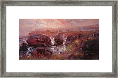 Sunrise At Shell Beach Framed Print by R W Goetting