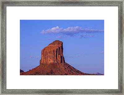Sunrise Butte Framed Print by Garry Gay