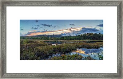 Sunrise Colours The Autumn Sky Framed Print by Robert Postma