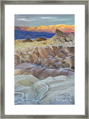 Sunrise In Death Valley Framed Print by Juli Scalzi