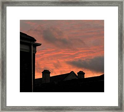 Sunrise In New Orleans Framed Print by Sherry Dooley