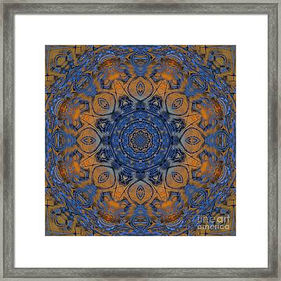 Sunrise Kaleidoscope Framed Print by Deborah Benoit