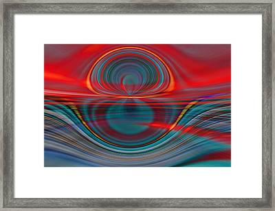 Sunrise Over Jupiter 3 Framed Print by Tom Druin