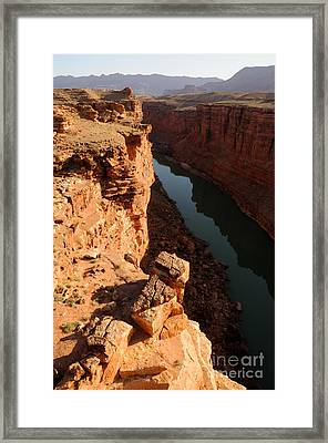 Sunrise Over Marble Canyon - Arizona Framed Print by Gary Whitton