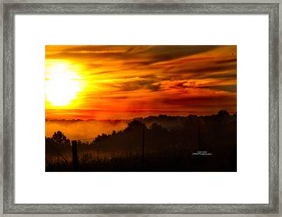 Sunrise Framed Print by Stephani JeauxDeVine