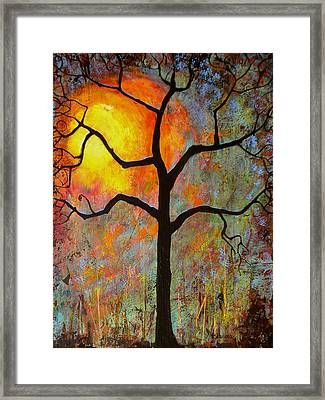 Sunrise Sunset Framed Print by Blenda Studio