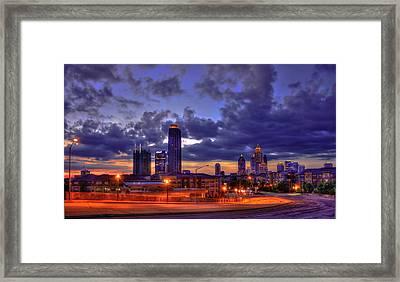 Sunrise Supreme Atlantic Station Midtown Atlanta  Framed Print by Reid Callaway