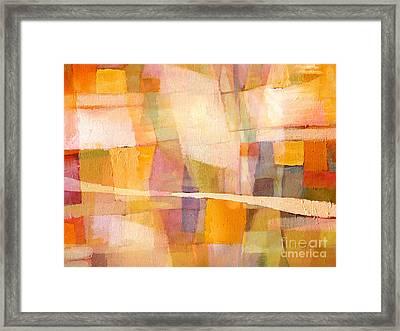 Sunscape Framed Print by Lutz Baar
