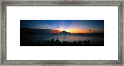 Sunset & Cloud Thailand Framed Print by Panoramic Images