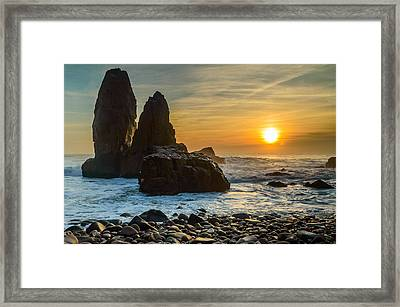 Sunset At The World's End II Framed Print by Marco Oliveira