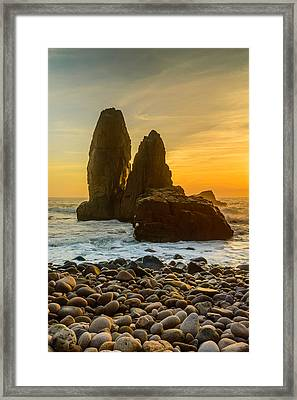 Sunset At The World's End IIi Framed Print by Marco Oliveira