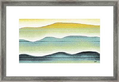 Sunset Framed Print by Brenda Bryant