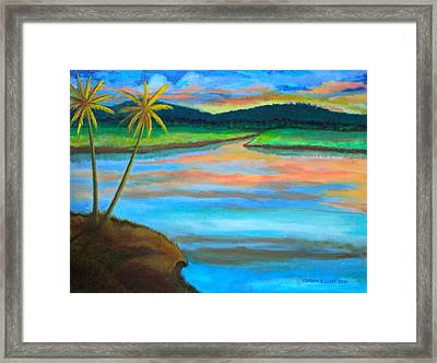 Sunset  Framed Print by Cyril Maza