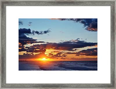 Sunset Framed Print by Diaae Bakri