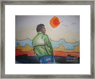 Sunset Dreams Framed Print by Heather Hilliard