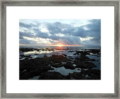 Sunset Framed Print by Duane Blubaugh