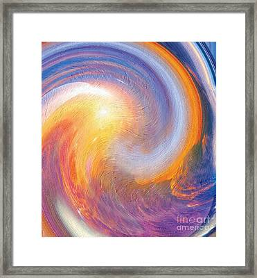Sunset Illusions Framed Print by Sara  Raber