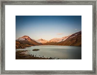 Sunset Lake. Framed Print by Daniel Kay