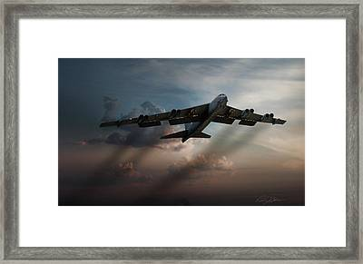 Sunset Mission Framed Print by Peter Chilelli