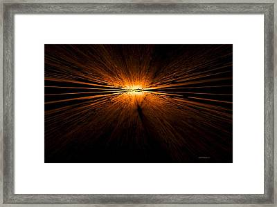 Sunset Framed Print by Naomi Richmond