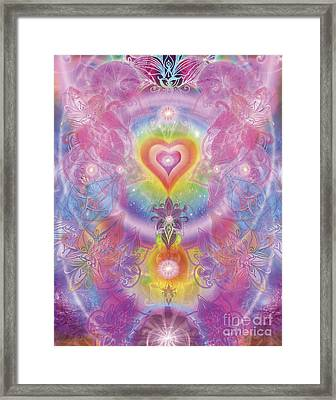 Sunset Orchid Framed Print by Alixandra Mullins