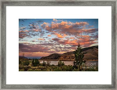 Sunset Over Mackay Framed Print by Robert Bales
