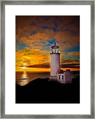 Sunset Framed Print by Robert Bales