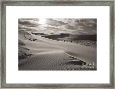 Sunset Framed Print by Sherry Davis