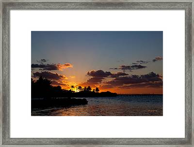 Sunset Song Framed Print by Michelle Wiarda