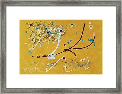 Sunshine And Rain Framed Print by Donna Blackhall
