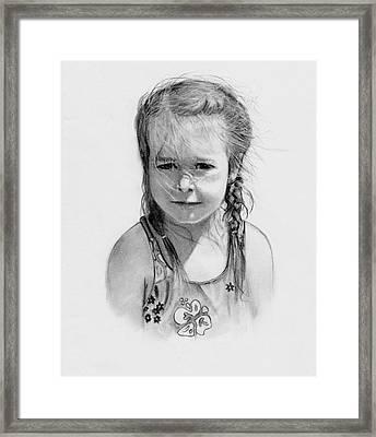 Sunshine Girl Framed Print by Joyce Geleynse