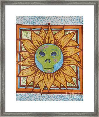 Sunshine Framed Print by Marcia Weller-Wenbert