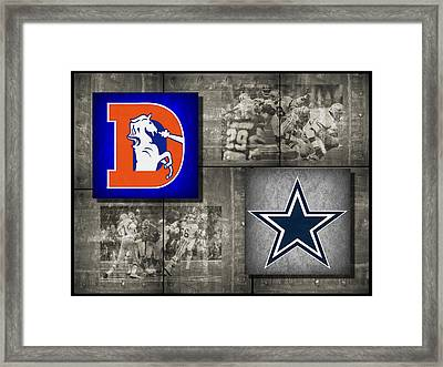 Super Bowl 12 Framed Print by Joe Hamilton
