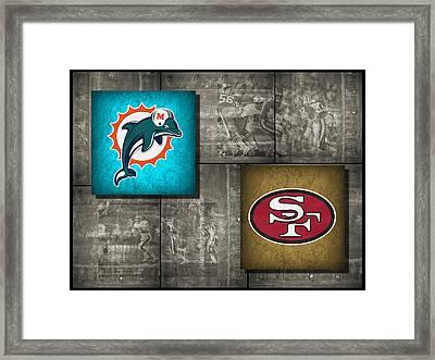 Super Bowl 19 Framed Print by Joe Hamilton