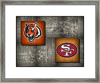 Super Bowl 23 Framed Print by Joe Hamilton