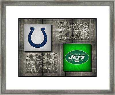 Super Bowl 3 Framed Print by Joe Hamilton